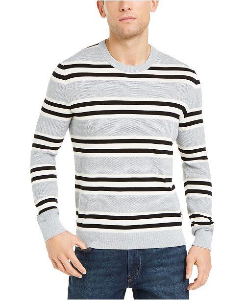 Michael Kors Men's Sashan Striped Sweater