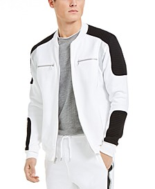 INC Men's Portrait Track Jacket, Created For Macy's