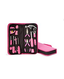 20 Piece Lady's Tool Set in Zippered Canvas Case
