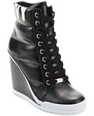 DKNY Womens Noho Wedge Sneakers Womens Shoes