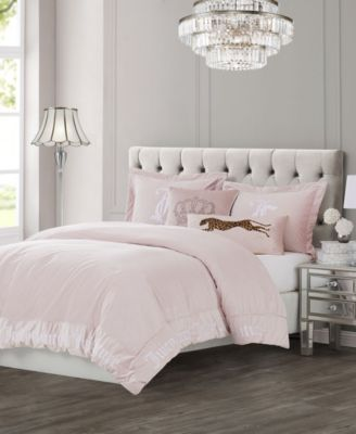 Velvet 3-Piece Queen Comforter Set