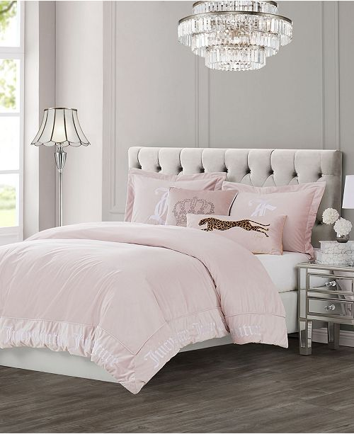 Juicy Couture Velvet Bedding Collection