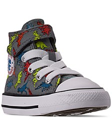 Toddler Boys Chuck Taylor All Star Dinoverse Stay-Put Closure High Top Casual Sneakers from Finish Line