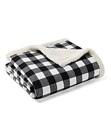 Cabin Plaid Throw and Pillow Set