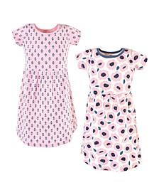 Big Girl Organic Cotton Dress 2-Pack