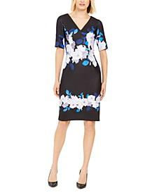 Floral V-Neck Dress