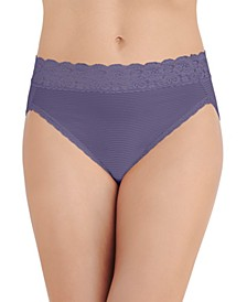 Women's Flattering Lace Hi-Cut Panty Underwear 13280, extended sizes available