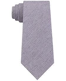 Men's Slim Micro-Textured Silk Tie