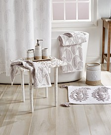 Textured Paisley Bath Collection