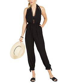Jumpsuit Swim Cover-Up, Created for Macy's
