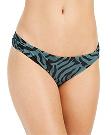 Zebra Print Hipster Bikini Bottoms, Created for Macy's
