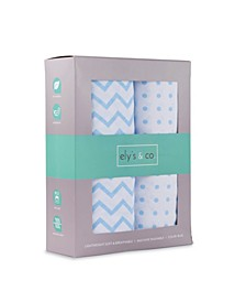 Jersey Cotton Crib Sheet Set 2 Pack