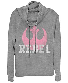Star Wars Rebel Desert Lace Cowl Neck Sweater
