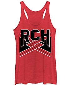Bring It on Rch Team Tri-Blend Racer Back Tank