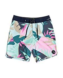 "Men's Highline Tropical Flow 19"" Board Shorts"