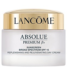 Absolue Premium Bx SPF 15 Moisturizer Cream and Sunscreen Lotion, 2.6 oz.