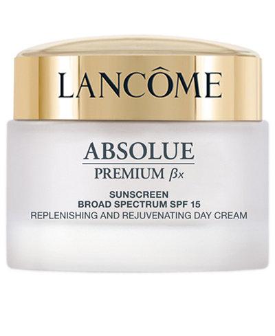 Lancôme ABSOLUE PREMIUM Bx CREAM Absolute Replenishing Cream SPF 15 Sunscreen Collection