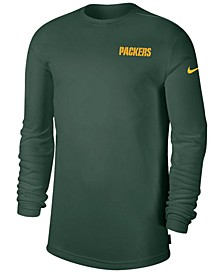 Men's Green Bay Packers Coaches Long Sleeve Top