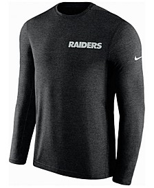 Men's Oakland Raiders Coaches Long Sleeve Top