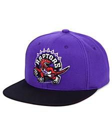 Toronto Raptors 2 Tone Classic Snapback Cap