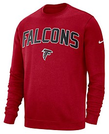 Men's Atlanta Falcons Fleece Club Crew Sweatshirt