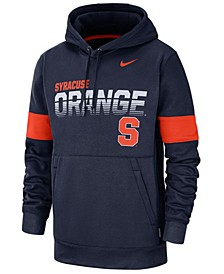 Men's Syracuse Orange Therma Sideline Hooded Sweatshirt