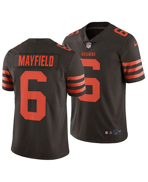 Nike Men's Baker Mayfield Cleveland Browns Limited Color Rush Jersey