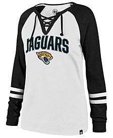 Women's Jacksonville Jaguars Lace Up Long Sleeve T-Shirt
