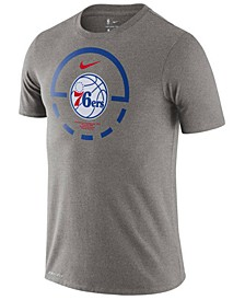 Men's Philadelphia 76ers Courtlines Dri-FIT T-Shirt