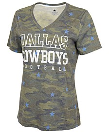 Women's Dallas Cowboys Atria Camo T-Shirt