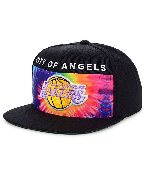 Mitchell & Ness Los Angeles Lakers Breeze Panel Snapback Cap