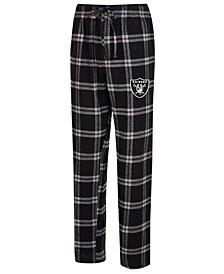 Men's Oakland Raiders Hillstone Flannel Pants