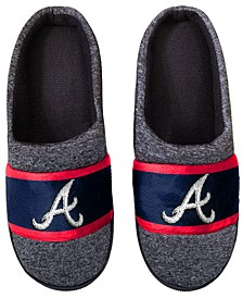 Atlanta Braves Poly Knit Slippers