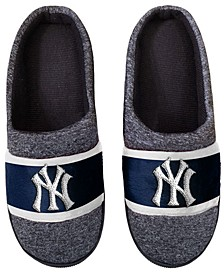 New York Yankees Poly Knit Slippers