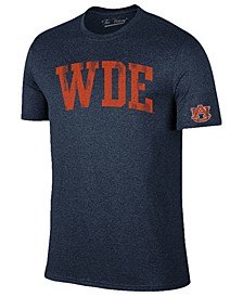 Men's Auburn Tigers Oversized Arch Dual Blend T-Shirt