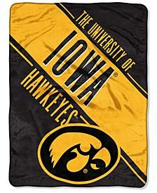 Northwest Company Iowa Hawkeyes Micro Raschel Walk Off Throw Blanket