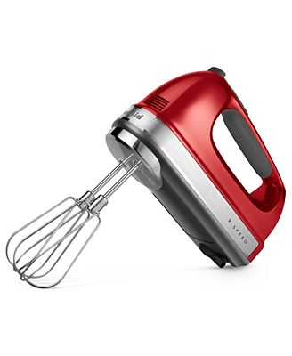 Kitchenaid Khm926 9 Speed Hand Mixer - Electrics - Kitchen - Macy'S