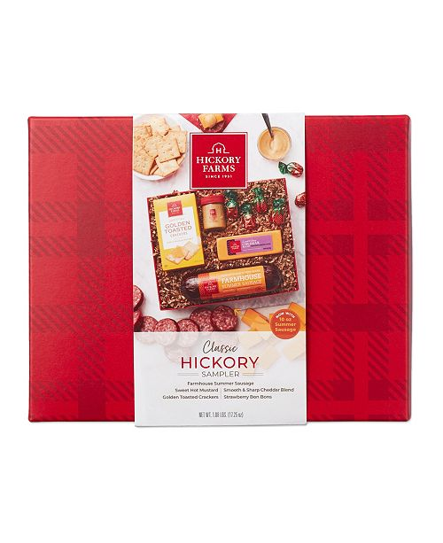 Hickory Sampler Meat & Cheese Gift Set