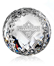 2019 Washington Nationals MLB World Series Baseball Collectible
