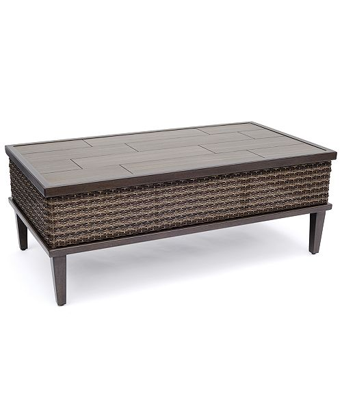 Furniture North Shore Outdoor Coffee Table, Created For Macy's