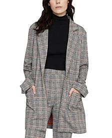 The Editor Plaid Jacket