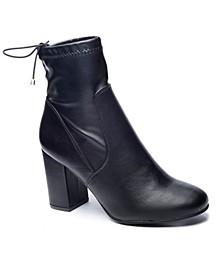 Kyla Block Heel Booties