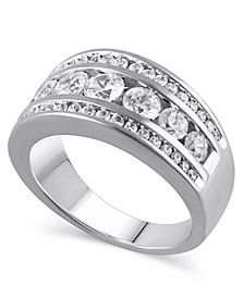 Certified Diamond (1-1/2 ct. t.w.) Anniversary Band in 14K White Gold