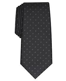 Men's Slim Metallic Neat Tie, Created for Macy's