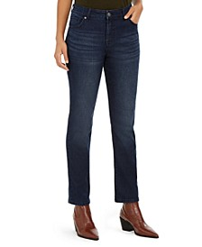 Modern Straight High Rise Jeans, Created For Macy's