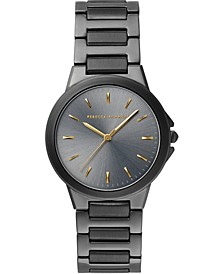 Women's Cali Gray PVD Stainless Steel Bracelet Watch 34mm