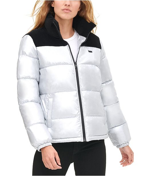 Levi's Women's Pearlized Puffy Jacket