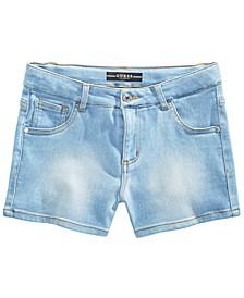 Big Girls Stretch-Denim Shorts