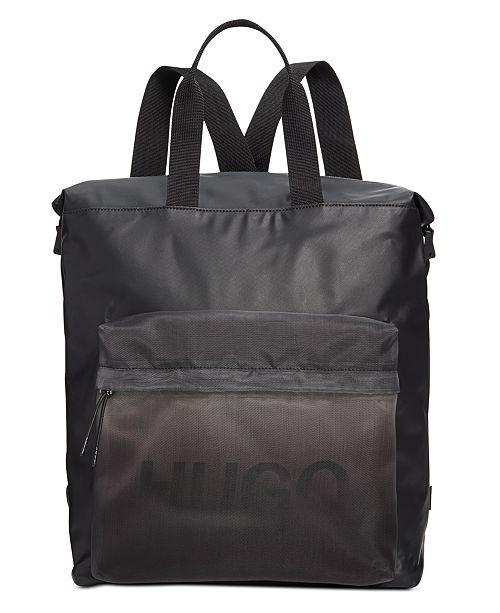Hugo Boss HUGO Men's Gradient Tote Backpack
