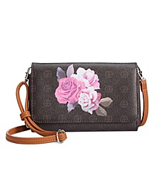 Signature Rose Crossbody Wallet, Created for Macy's